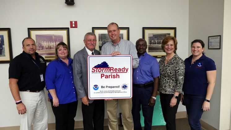 St. Tammany Parish Earns Recognition as StormReady® Community from the National Weather Service