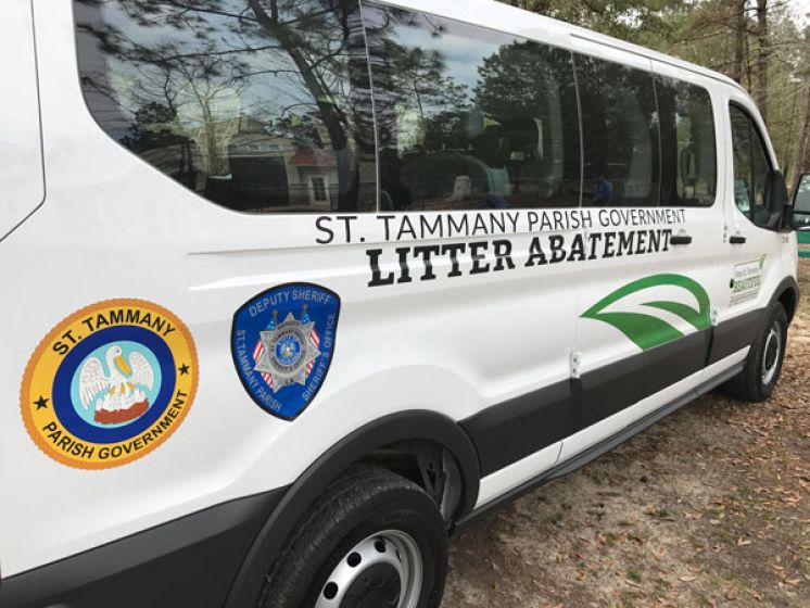 Joint Litter Abatement Crew in St. Tammany Celebrates One-Year Anniversary