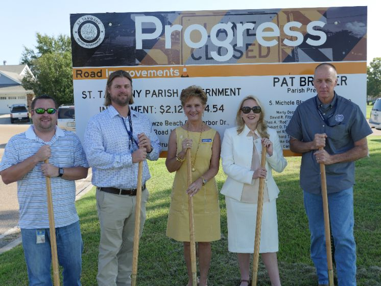 $2.1 Million Multi–Road and Drainage Improvement Project Begins in Slidell Area