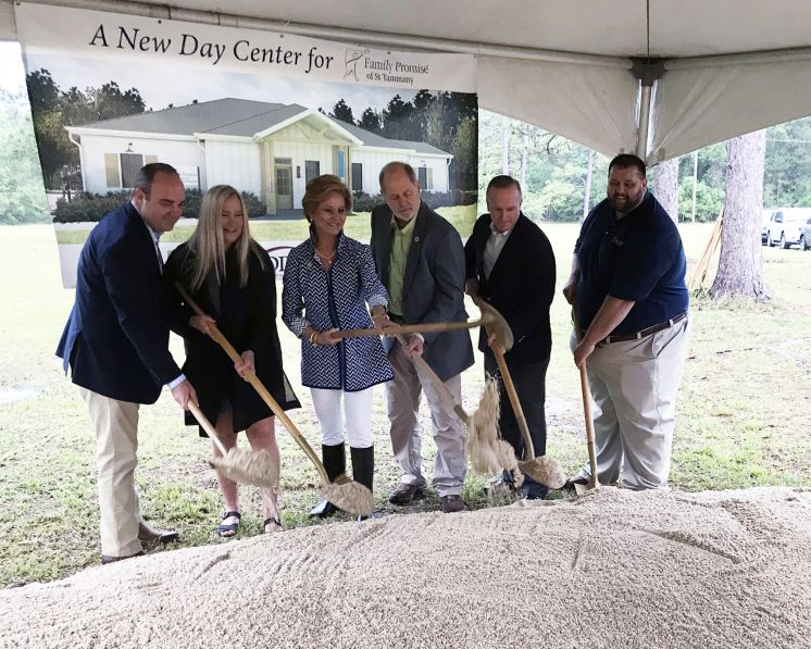 Safe Haven Campus Expands with Groundbreaking of Family Promise of St. Tammany Willie Paretti Day Center