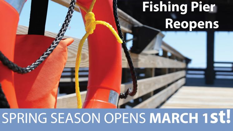 Spring Season of the St. Tammany Fishing Pier Opens in Two Weeks
