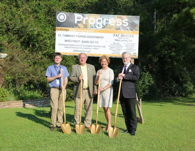 First Phase of Drainage Project in Covington Area to Benefit two Neighborhoods, Begins