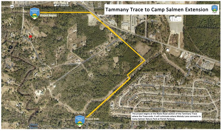 Tammany Trace Will Soon Extend Into Camp Salmen Nature Park